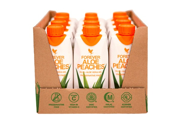 Aloe Peaches 12x330 ml